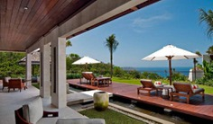 Villa 3318 is our 2 bedroom villa feature a large living room with the newest technology entertainment system, a stylish dining room, a plunge pool in natural stone, a bale, and a deck. Book with Villa Getaways.