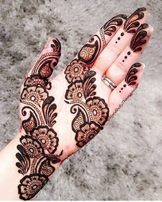 Delicate Mehndi Design