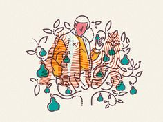 A.Partridge in a Pear Tree x Colour and Lines