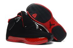 "Nike Basketball Shoes Kids Jordan 18 ""Countdown Package"" Black Varsity Red #shoes"