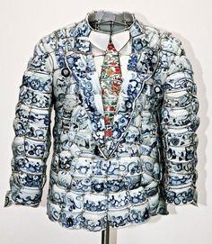 Porcelain POLO shirt by Li Xiaofeng | Yatzer™ #sculpture #pottery #art