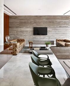 AN House  by Guilherme Torres an house concrete wall