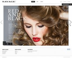 Savage on Web Design Served #white #grid #webdesign #luxe #eshop