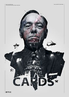 Spizak illustration, house of cards #illustration #posters