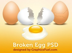 Broken egg with yolk psd download Free Psd. See more inspiration related to Egg, Psd, Broken, Horizontal and Yolk on Freepik.