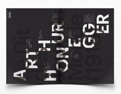 Le Dit des Jeus du Monde, Arthur Honegger on Behance #magda #swiss #azab #poster #typography