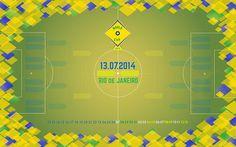 World Cup 2014 Wallpaper #illustration #design #graphic #wallpaper