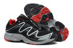 Mens Salomon XT Hawk 2 Trail Running Shoes black grey red