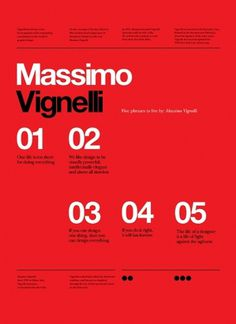 Vignelli Forever on the Adweek Talent Gallery