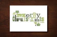 Marta Harding Designs #christmas #wood #type