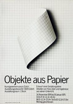 Object aus Papier #german #pattern #poster