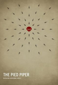 The Pied Pipper | Square Inch Design Blog #pied #piper #minimal #poster