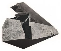 MONUMENTS - Jesse Draxler #white #stone #build #monument #black #space #jesse #draxler #collage #death