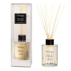 Fragrant Reed Diffuser Fresh Cotton & Lavender, 125 ml