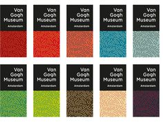 Van Gogh Museum #identity #van gogh museum #koeweiden postma