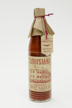 Louisiana Hot Sauce | Rebrand on Behance