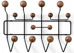 New Limited Edition Eames Hang-It-All in Walnut | Apartment Therapy #walnut #all #hang #it #eames