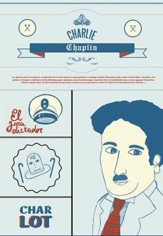 film #blue #chaplin #poster #film