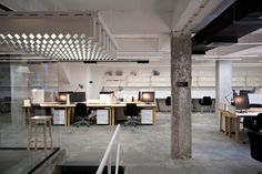 NOVA ISKRA: A Multifunctional Coworking Space for Creatives Photo #interior #office #design #decoration