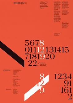 22 Posters by Fedrigoni, poster series submitted and designed by Luigi Carnovale from Design LSC (2010)–Type OnlyUnit Editions