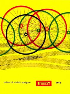 All sizes | Bob Noorda Illustration | Flickr - Photo Sharing! #pirelli #bob #illustration #noord #advert
