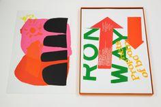 Creative Review - American Sampler: The Art of Corita Kent #creative #serigraph #visual #print #design #art #colour #typography