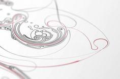 Redline - Buzzsgraphics #buzzsgraphics #print #illustration #fluid #poster #redline #love #typography