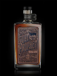 http://www.thedieline.com/blog/2015/5/1/orphan-barrel-lost-prophet-label #whiskey