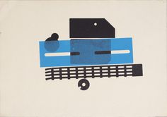 Karel Martens #print #design #graphic #letterpress #geometric