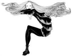 Fashion Illustrations by Laura Laine #fashion #laura #laine #illustrations