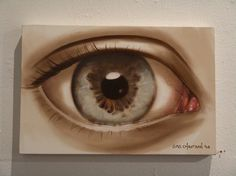 Oil Paintings by Sas Christian | Best Bookmarks #eye #painting #oil