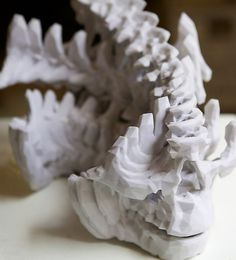 lucy portrait | Flickr - Photo Sharing! #mike #printing #pelletier #skull #scan #3d