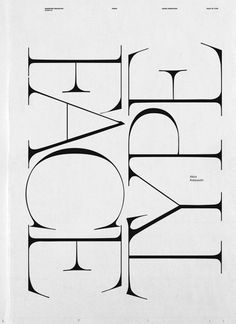 Full Fontal #typography