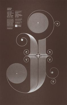 Jude Landry — Hische Lecture Poster #lettering