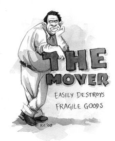 The Mover #comic #illustration #superest #humor