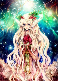 Anime Illustrations by Llama Lovin
