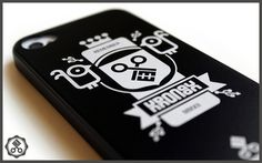 Kronex Crest (Black Matte) #case #iphone #design #kronex