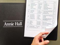 Annie Hall Marina Soto #typography