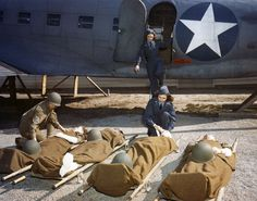 USAAF_Flight_Nurses_during_WWII.jpg (1800×1416) #ww2 #nurses #women #rescue #planes #film