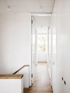 Hallway. Detached House by CAMA A. Photo by Hiepler, Brunier. #hallway #camaa #minimal