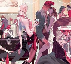 Tomer Hanuka #draw #illustration #magazine