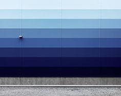 Patrik Lindell #blue #wall #texture