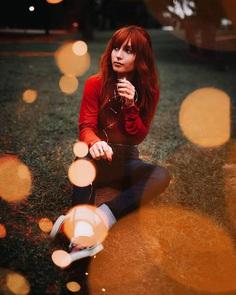 Moody Female Portrait Photography by Matheus Bertelli