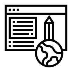 See more icon inspiration related to content, browser, copywriting, website, pencil, marketing, writing, earth, web and window on Flaticon.