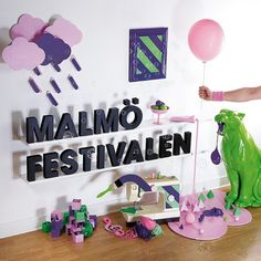 Malmö Festival, Photos | Flickr - Photo Sharing! #malmfestivalen #installation #design #graphic #photgraphy #snask #identity #stilleben #art #panther #typography