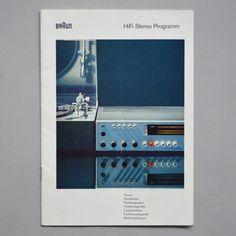 Braun HiFi Stereo Programm 1968 via www.dasprogramm.org