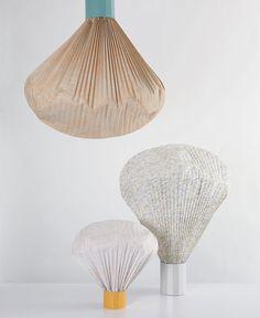Vapeur Motif Lamps