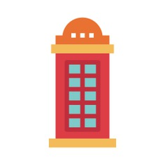 See more icon inspiration related to telephone box, phone booth, phone call, communications, box, telephone and technology on Flaticon.