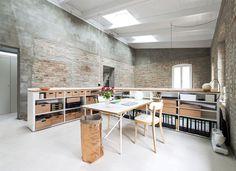 An Old Building Renovation by asdfg Architekten