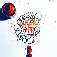 Keep on dreaming y'all - #calligraphy #brushlettering #brushcalligraphy #handlettering #lettering #typegang #goodtype #thedailytype #typespire #handmadefont #goodtype #letteringdaily #50words #foldedpen #calligritype #type #inspiration #motivation...